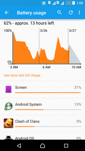 how to save battery on android