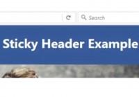 sticky-header-html