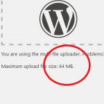 WordPress Upload File Size Limit Increase