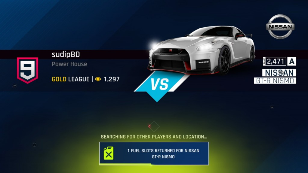 Asphalt 9 bug fix